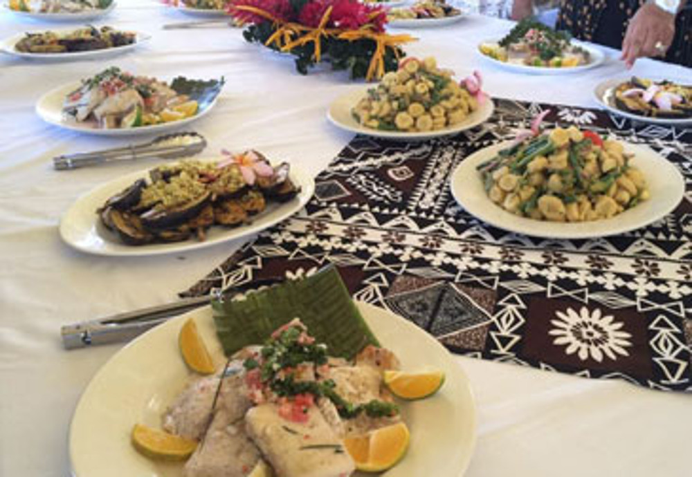 Promoting Local Tongan Produce In Contemporary Cuisine The Pacific