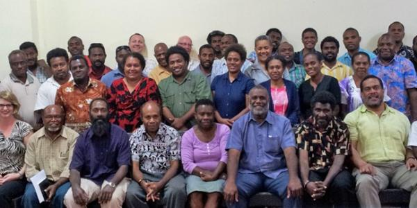 Vanuatu CRVS Workshop, September 2014