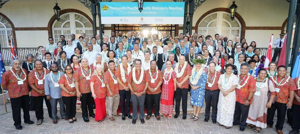Pacific Ministers at PHMM 2019 in Tahiti