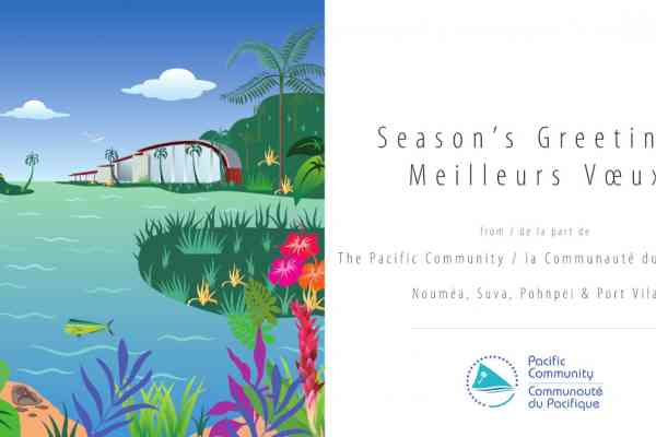 Season's Greetings from everyone at the Pacific Community