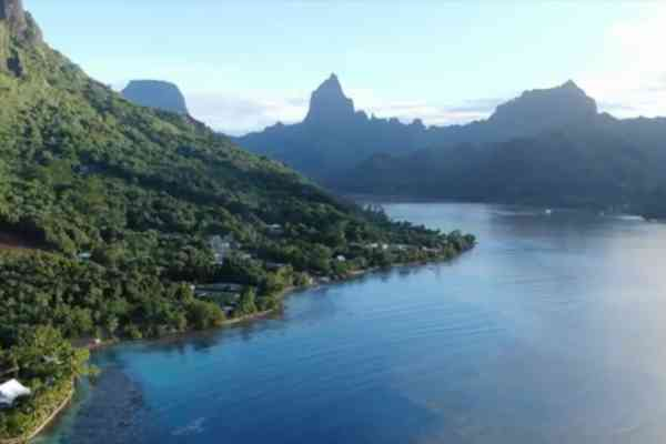 RESCCUE activity in French Polynesia: ecological anchorage