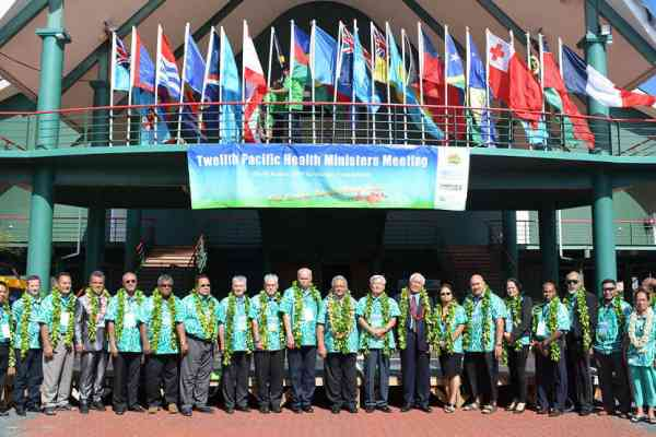 Measuring progress towards the Healthy Islands vision