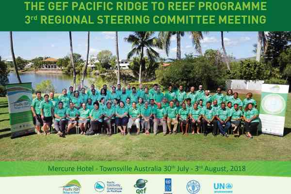 Capacity building and coordination highlighted at Third Pacific Ridge to Reef Programme meeting