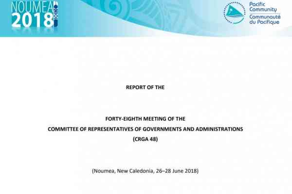 Report of the Forty-Eighth Meeting of the Committee of Representatives of Governments and Administrations [CRGA 48]