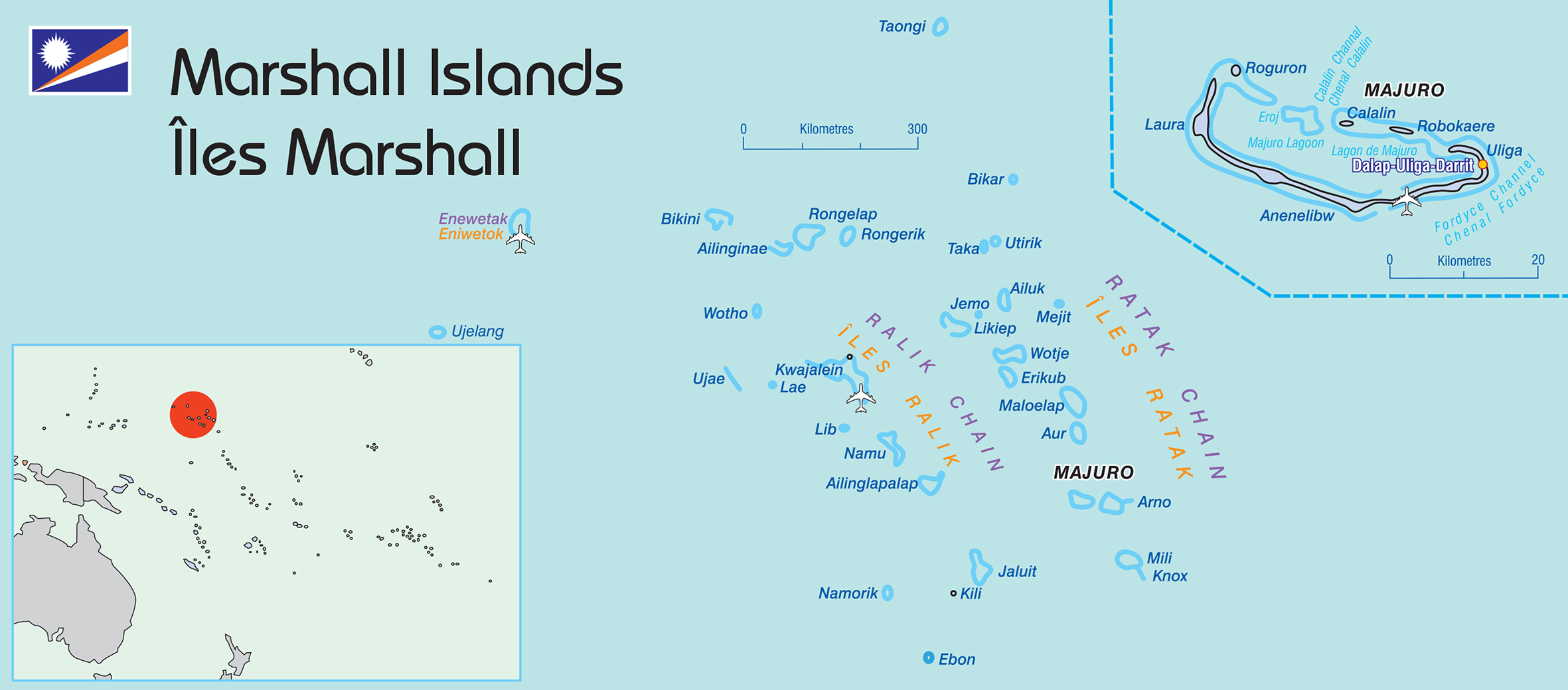 Marshall Islands map © SPC 2016