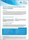 Pacific Community Results Report 2017 – Results Highlights