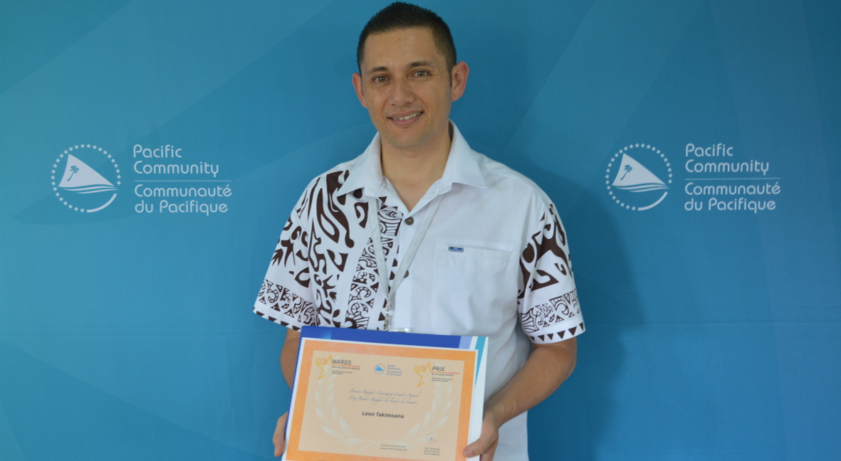 Leon TAKIMOANA, Jimmie Rodgers' Emerging Leader Award (2015)