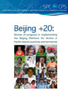 Beijing +20: Review of progress in implementing the Beijing platform for action