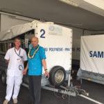 Le développement durable au cœur de l'agenda du Directeur-général de la Communauté du Pacifique en Polynésie française