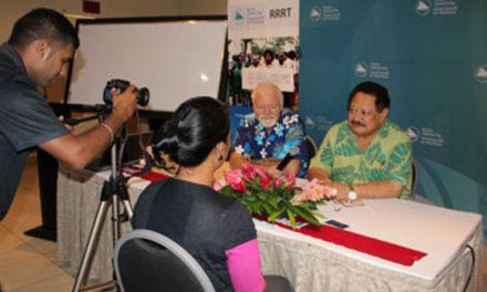 Initiation au journalisme axé sur les droits de la personne en Océanie