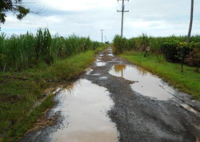 RARAI Project - Naviago road before