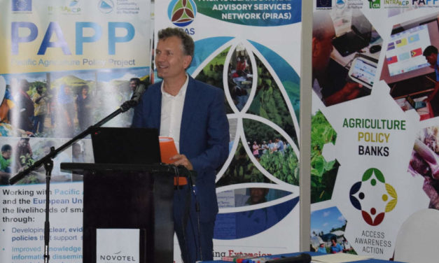 Launch of two new ICT enabled information platforms – a breakthrough for Pacific agriculture sector