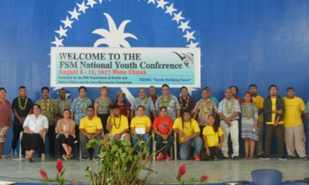 Youth Shape Future at International Youth Day Conference in the Federated States of Micronesia