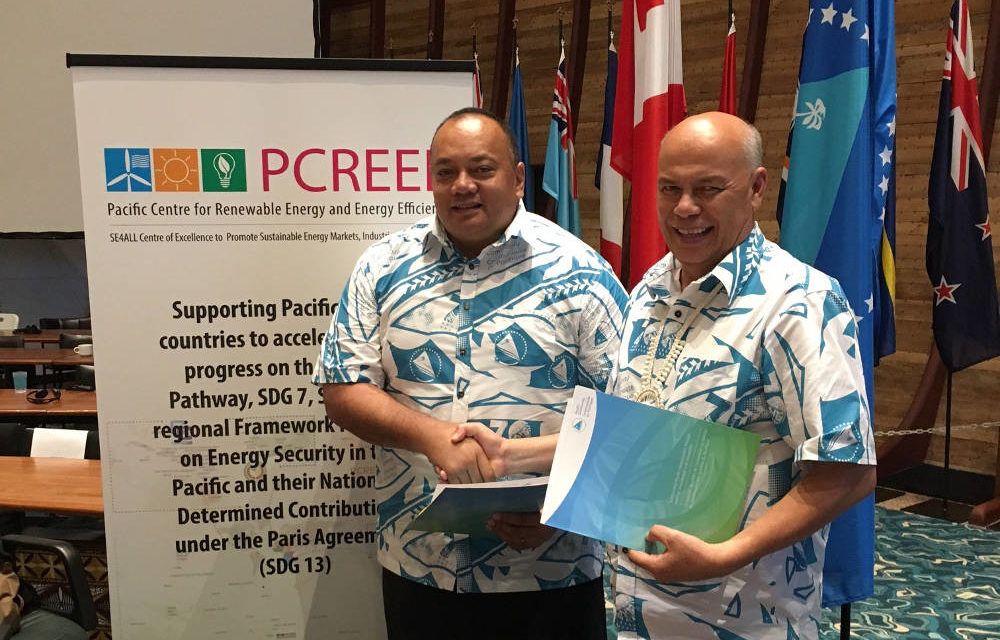 Pacific Centre for Renewable Energy and Energy Efficiency commences service for Pacific Community members