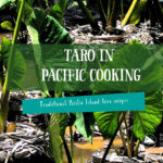 Inviting taro and Pacific culture to your table!