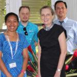 Une titulaire de la bourse Greg Urwin rejoint les rangs de la Communauté du Pacifique