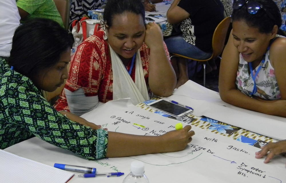 Strengthening disease surveillance and response in Tuvalu