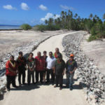 Coastal protection project opened in Ailinglaplap, Marshall Islands