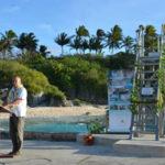 New tide gauge for Niue – waves, tides, weather & sea level