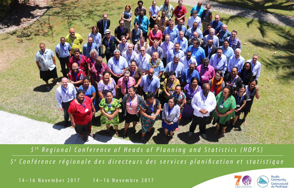Third Phase of Ten Year Pacific Statistics Strategy Adopted at 5th Heads of Planning and Statistics Conference