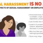 Nothing justifies sexual harassment
