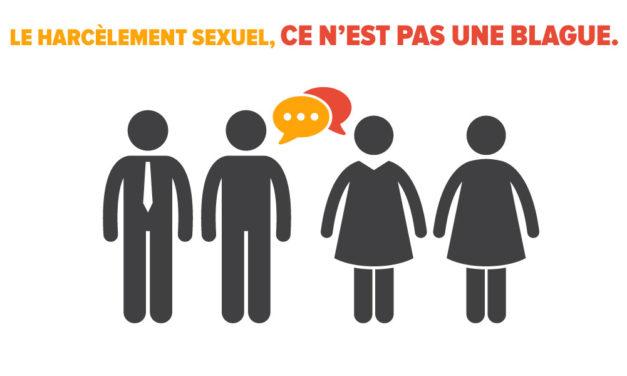 Combattre le harcèlement sexuel est l'affaire de tous