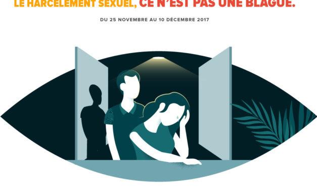 « Me toucher sans permission, c'est du harcèlement sexuel »