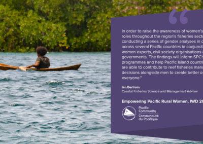 Women in coastal fisheries