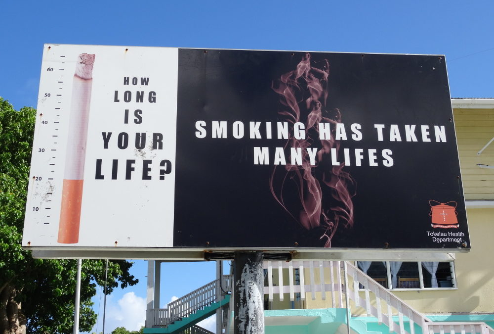 Tobacco use continues holding back the potential of the Pacific